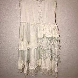 NWOT River Island ruffle tunic dress